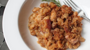 Thumbnail image for Quick Cassoulet Recipe - French Pork and Bean Casserole