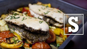 Thumbnail image for Ratatouille and Tapenade Chicken