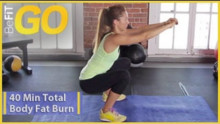 40 Min Total Body Fat Burn Workout