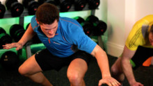 High Intensity Sports Conditioning Circuit