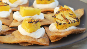 Thumbnail image for Pineapple Dessert Nachos