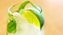 Fresh Galangal Limeade