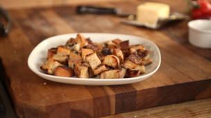 Crispy Homemade Croutons