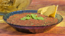 Roasted Tomato Red Salsa