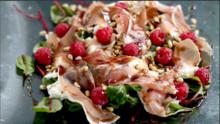 Prosciutto & Raspberry Salad
