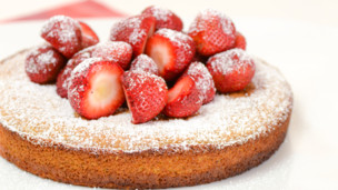 Thumbnail image for Strawberry Almond Cake