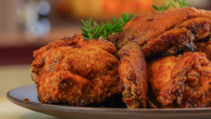"Thumbnail image for Baked ""Fried"" Chicken"