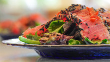 Ahi Salad with Sesame