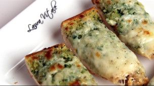 Thumbnail image for Cheesy Garlic Bread Recipe