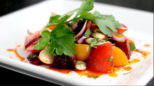 Thumbnail image for Smokey Chorizo and Butterbean Salad