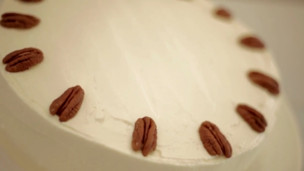 Thumbnail image for Pecan, Date, & Maple Cake