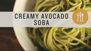Thumbnail image for Soba Noodles with Avocado Cream Sauce