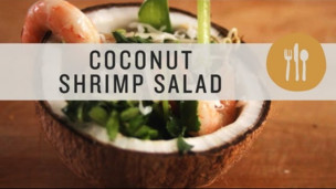 Thumbnail image for Coconut & Shrimp Salad