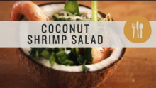 Coconut & Shrimp Salad