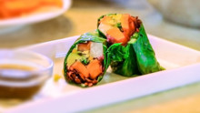 Healthy Collard Wraps