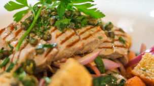 Thumbnail image for Seared Tuna Panzanella Salad