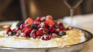 Nuvola Meringue with Fresh Berries and Mascarpone