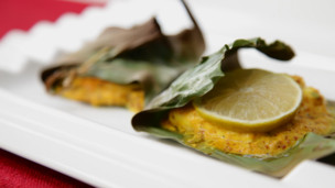 Thumbnail image for Sea Bass in Banana Leaf