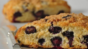 Blueberry Streusel Scones
