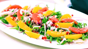 Colorful Sicilian Salad