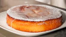 Lemony Polenta Cake