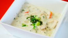 Chicken Coconut Milk Soup