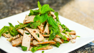 Thai Mint Salad with Pork