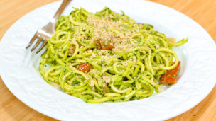 Thumbnail image for Zucchini Pasta & Pesto
