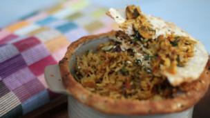 Thumbnail image for Wild Mushroom Biryani