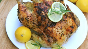 Lemon Garlic & Rosemary Roasted Chicken Recipe