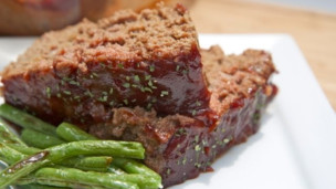 Man-Pleasing Meatloaf with BBQ Sauce