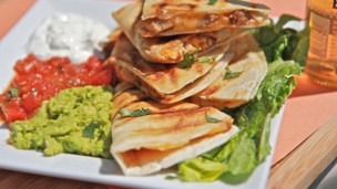 Thumbnail image for Smoked Chicken Cheese Quesadilla Recipe