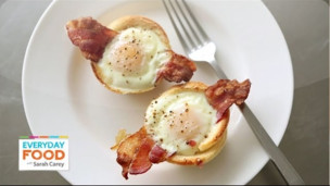 Thumbnail image for Bacon, Egg, and Toast Cups