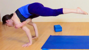 Thumbnail image for Flying Crow Pose