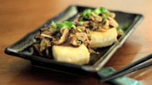 Tofu with Mushrooms