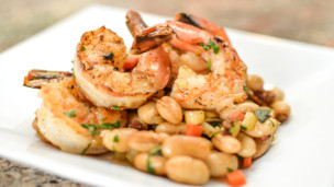 Thumbnail image for Italian Garlic Prawns