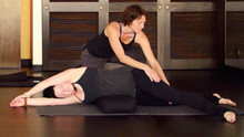 Restorative Yoga to Lengthen the Spine