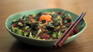 Thumbnail image for Tuna Tataki Donburi