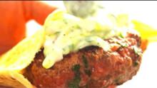 Lamb Tzatziki Burger