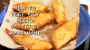 Deep Fry Beer-Battered Mahi Mahi