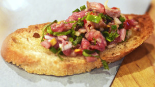 Seared Lamb Tartar