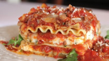 The Best Meat Lasagna