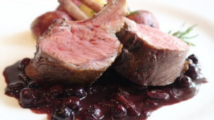 Thumbnail image for Rack of Lamb with Blueberry Beurre Rouge