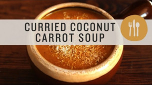 Thumbnail image for Curried Coconut Carrot Soup