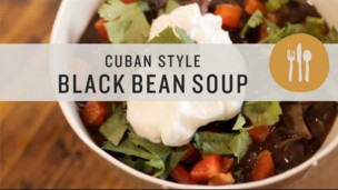 Thumbnail image for Cuban Style Black Bean Soup