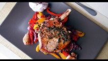 Pork Chops with Sweet and Sour Peppers