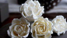 Fondant - How to Make a Sugar Rose