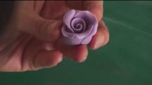 Fondant - How To Make Roses