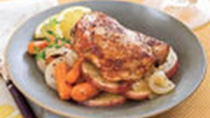 Thumbnail image for Chicken Thighs with Carrots and Potatoes
