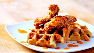Thumbnail image for Chicken and Waffles with The Brothers Green